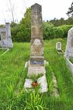Vecchio cimitero in Polonia.