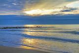 Alba sulla spiaggia.