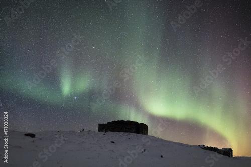 Aluminium Noorderlicht Arctic lights II