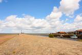 Gujan-Maestras à marée basse