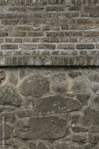 Papiers peints Brick wall alte Steinwand