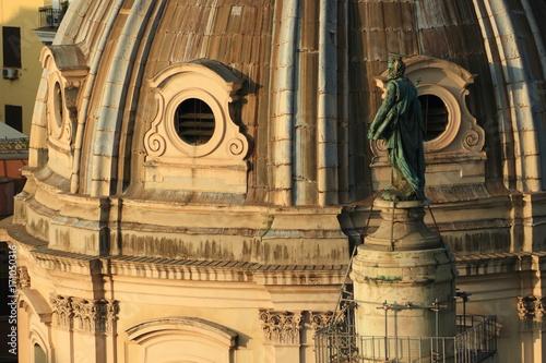 Foto op Plexiglas Rome Roma, Chiesa del Santissimo Nome di Maria: veduta dalla terrazza delle quadrighe