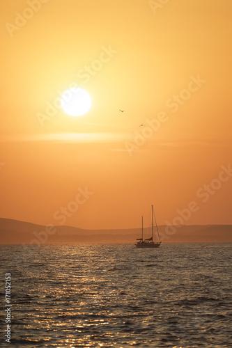 Fotobehang Schip Grosses Piratenschiff