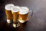Lager beer mugs