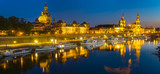 evening panorama of Dresden - 171077542