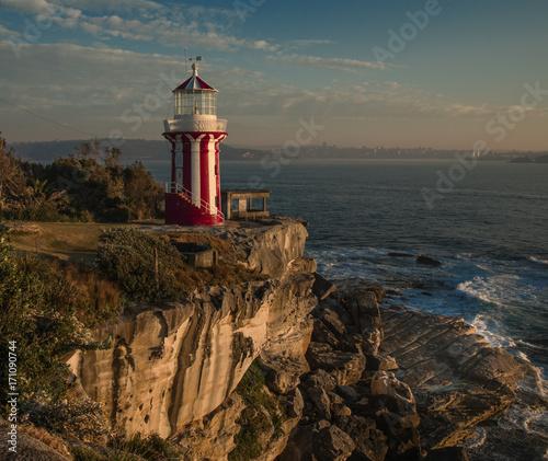 Fotobehang Vuurtoren Hornby Lighthouse Sydney Australien