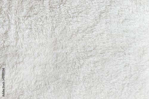 Leinwandbild Motiv Synthetic fur white texture for the background