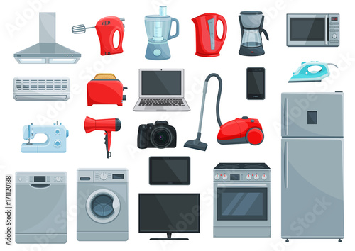 Home appliances and kitchenware icons | Buy Photos | AP Images ... on icons computer, icons windows, icons medical appliances, cartoon appliances,