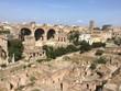 Roma: historic Roman forum