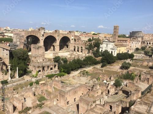 Staande foto Rome Roma: historic Roman forum