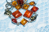 Fashion Jewelry with Amber