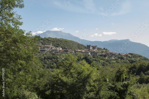 Aluminium Blauwe hemel Tenno Italy