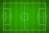 Green grass field background. Vector Football - Soccer Field - 171146992