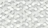 hexagon geometric background - 171149791