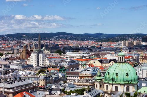Foto op Canvas Wenen Vienna Capital City Cityscape in Austria
