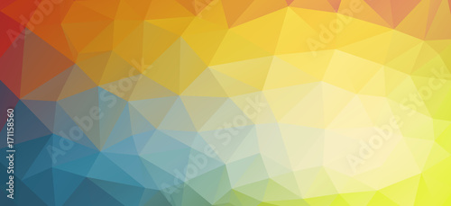 Fotobehang Geometrische Achtergrond Horizontal bright color background