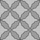 vector seamless pattern lace black and white