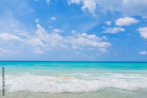 Atlantic Ocean in Cuba Poster