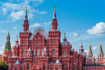 The State Historical Museum in Moscow
