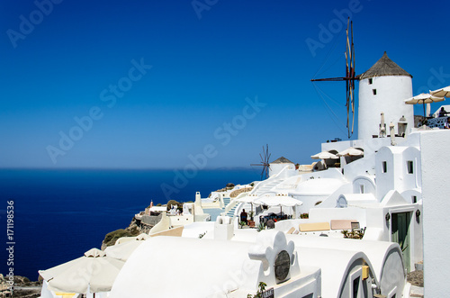 Foto op Aluminium Santorini Santorini, Greece