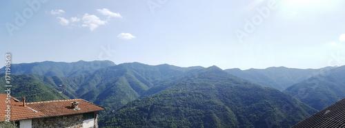 Papiers peints Ligurie Panorama da Triora