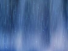 Rain Drops  Rainy Weather   Illustration Sticker
