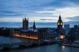 Big Ben de nuit, Londres, Angleterre