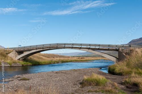Fotobehang Bruggen Old Bridge in Iceland