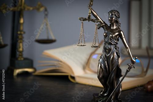 Foto op Plexiglas Fiets Law.