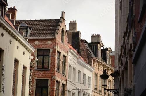 Fotobehang Brussel Rue de l'étuve (Bruxelles)