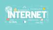 Internet concept illustration.