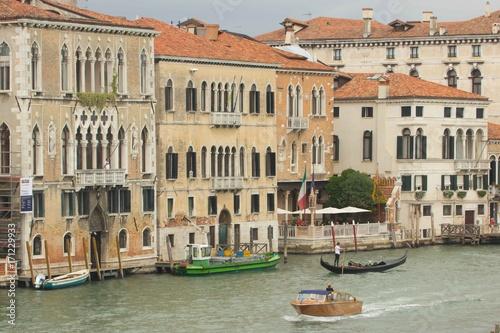 Foto op Plexiglas Venetie Edifici veneziani sul Canal Grande