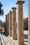 Lindos mit Akropolis, Rhodos, Antike