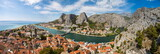 panorama of Omis town in Croatia - 171241114