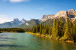 Bow River near Canmore in Canada