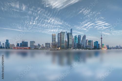 Fotobehang Shanghai shanghai cityscape and skyline