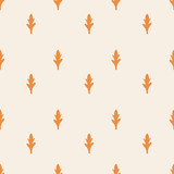 seamless leaf pattern - 171259731