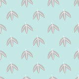 seamless leaf pattern - 171266780