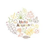 アイコンセット 秋の植物 - 171273342
