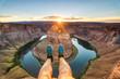 leisure time at horseshoe bend, arizona