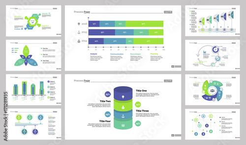 Statistics and algorithm chart set