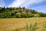 Vue sur le village de Montbrun-les-Bains. Provence. France. - 171291970