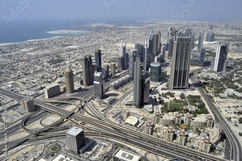 Aerial View of Dubai, United Arab Emirates Poster