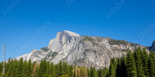 The Half Dome at Yosemite, CA, USA, September, 2016