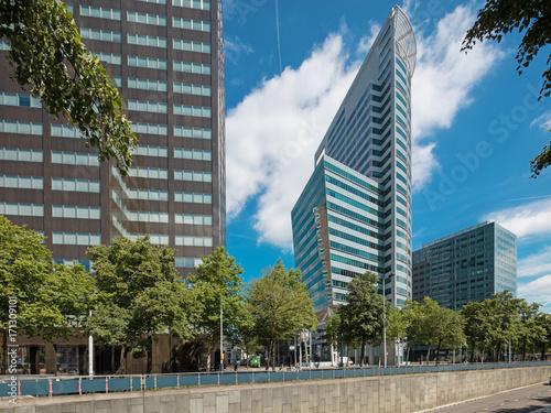 Fotobehang Rotterdam modern palaces in Rotterdam