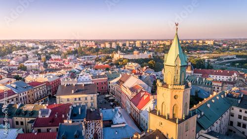 Zdjęcia na płótnie, fototapety na wymiar, obrazy na ścianę : Punkt widokowy w Lublinie