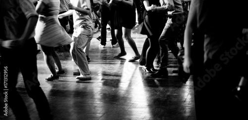 Obrazy na płótnie i fototapety na ścianę: Pista da ballo alla festa