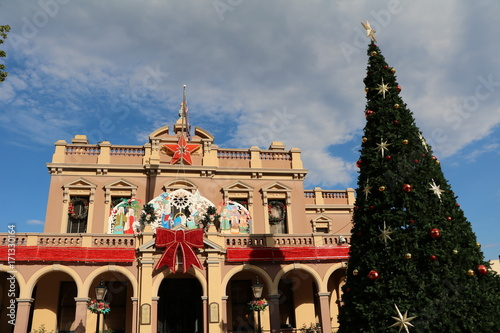 Christmas in Parramatta City the Town Hall, New South Wales, Australia