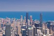 Chicago Skyline from above.