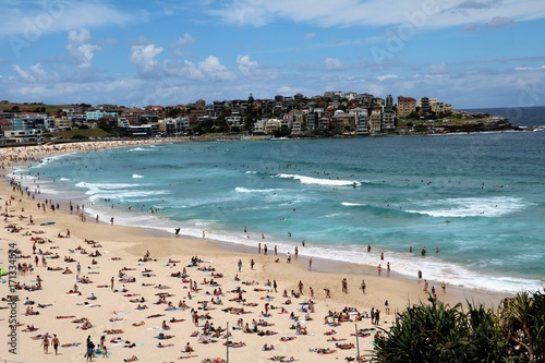 Holidays at Bondi Beach in Sydney New South Wales, Australia Poster